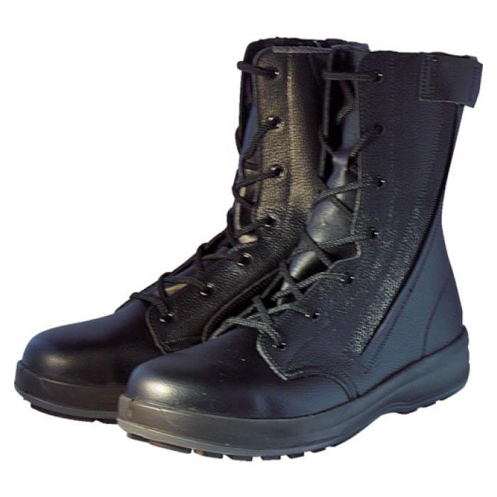 (T)シモン 安全靴 長編上靴 WS33HiFR 23.5cm
