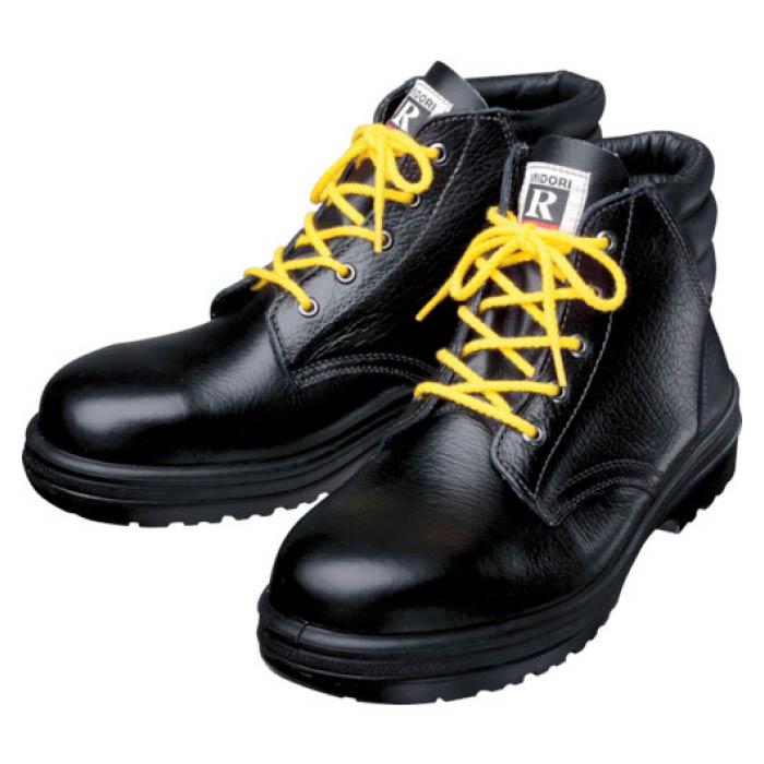 (T)ミドリ安全 静電中編上靴 24.0cm