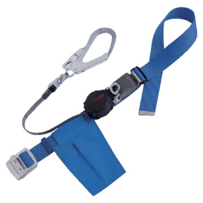 (T)ツヨロン ワンハンドリトライト安全帯 青