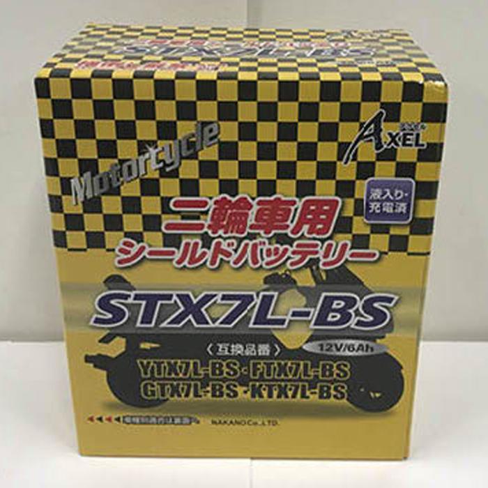 G&Uナカノ 2輪車用バッテリー STX7L-BS