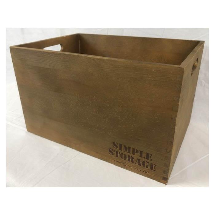 店内全品対象 お部屋の小物整理や目隠しに最適 木製ボックス 今だけ限定15%OFFクーポン発行中 BR Lサイズ