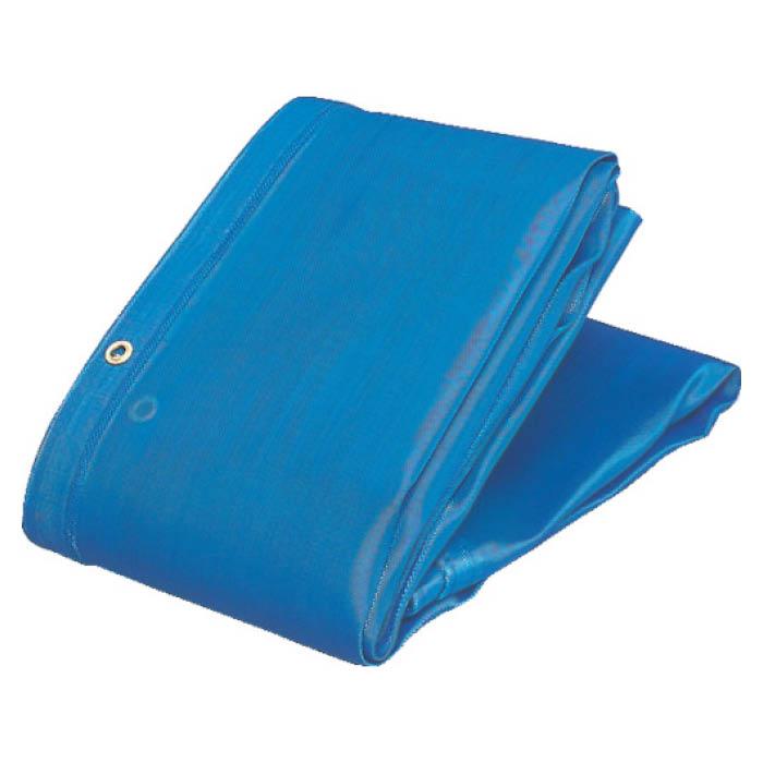 (T)TRUSCO(トラスコ) ソフトメッシュシートα幅3.6mX長さ5.4m青