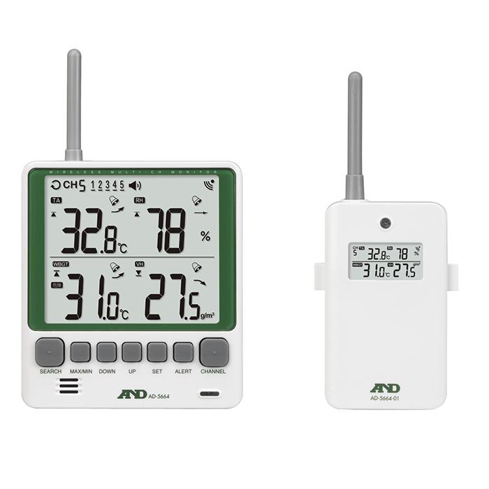 エー・アンド・デイ ワイヤレス環境温湿度計 ワイヤレス環境温湿度計