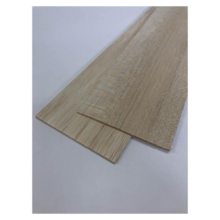 軽く柔らかな木材 工作用に バルサシート 初売り 約80×450mm 値下げ 2本入 1mm