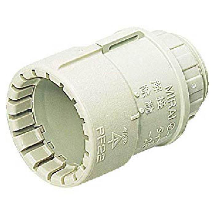 確実性 使い易さを追求したPF管用の樹脂管オプション 低廉 未来工業 PFコネクター お得クーポン発行中 MFSK22G