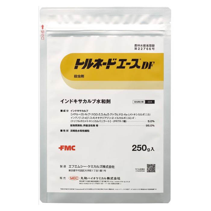 チョウ目の老齢幼虫にも効果を発揮 在庫一掃売り切りセール 丸和バイオケミカル トルネードエースDF 250g 格安 価格でご提供いたします
