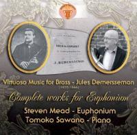 CD 人気商品 スティーヴン ミード Virtuoso Music for Euphonium Dumersseman Brass-Jules 5☆好評 works Complete