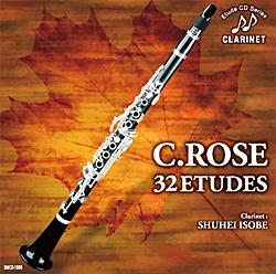 超目玉 お買得 CD ローズ クラリネットのための32の練習曲