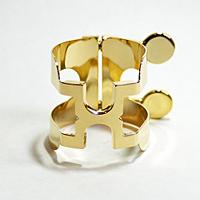 リコ B♭クラリネットリガチャーHシリーズ ゴールド