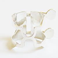 ハリソン B♭クラリネットリガチャー グローバル復刻版 ハリソン スターリングシルバー, 豊栄薬品:b57e5280 --- reifengumi.hu