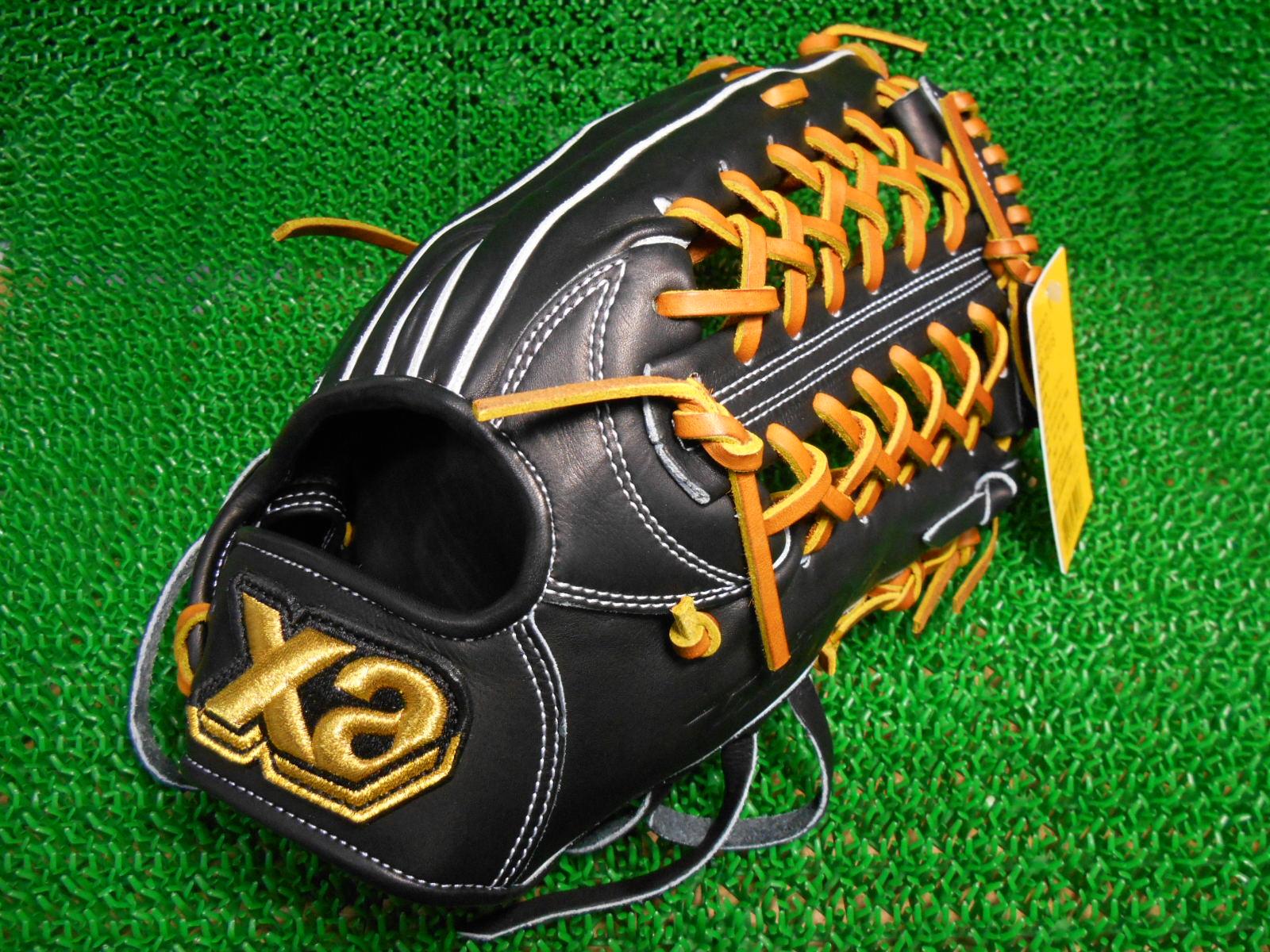 限定色!プロ選手と同じ型、同じ工程で作るグラブザナックス トラストエックス硬式一般 外野手用BHG-72115