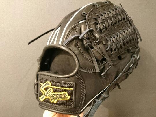 久保田スラッガー軟式一般 内野手用KSN-22PS ブラック×ブラック