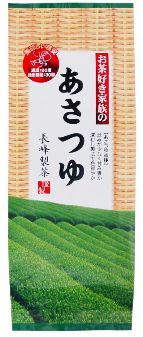 New tea stock Kagoshima green tea and asatuyu breeds tea like asatuyu breed known as natural tea family asatuyu 100 g steamed sweet rich deep brown double-tea use 2-reasonably for the tea!