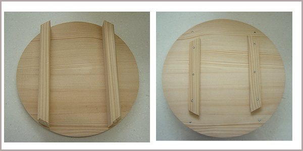 Japan-made wooden ohitsu ( 飯櫃 ) (1, 5 square lid with)