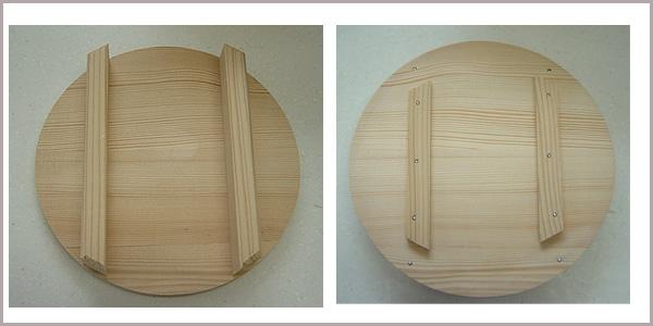 日本制造木制ohitsu(飯櫃)(1,5升盖附带1,5升盖)