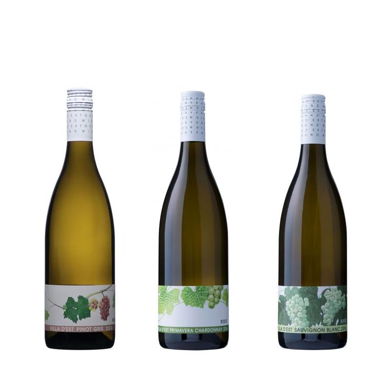 ヴィラデスト 白3種飲み比べ ワイン3本セット 750ml×3 ※20歳未満の方の飲酒は法律で禁止されています ※20歳未満の方へのお酒の販売は行っておりません 当店限定販売 公式ショップ 送料込 沖縄別途590円