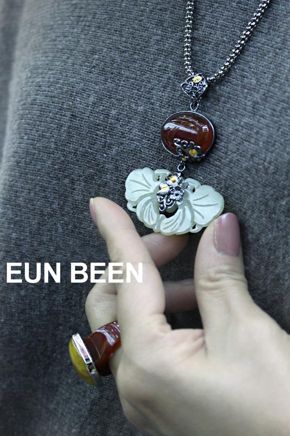 暖かな配色が可愛らしいスクエア型の琥珀リング ring047 * 天然琥珀 コハク amber イエローアンバー 自然玉 チャマンオク ネフライト * 指輪 サイズ指定 韓国ジュエリー 韓国伝統工芸 アクセサリー EUNBEEN 恩彬 ウンビン送料無料XZiuPk