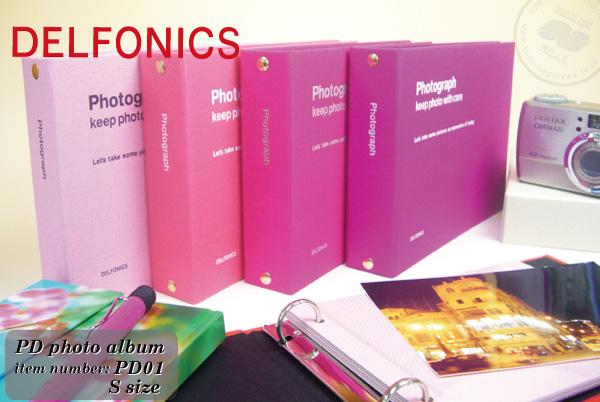 DELFONICS 粘结剂类型专辑 PD 照片专辑 S 大小 PD01