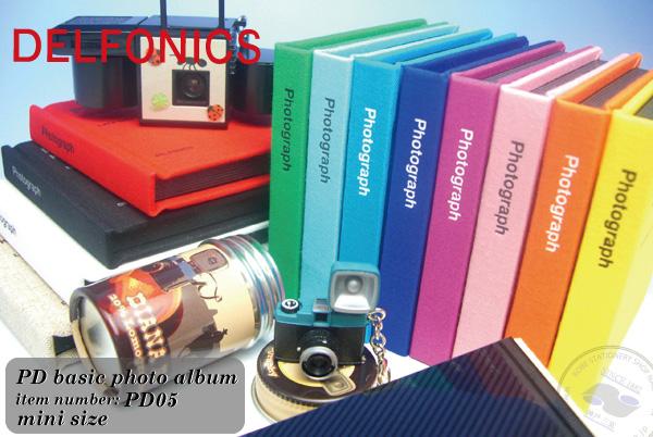 DELFONICS 装订类型专辑 PD 基本的照片画册迷你 PD05