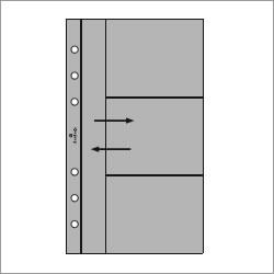 【送料お得なネコポス対象】 ASHFORD バイブルサイズシステム手帳用リフィル カードホルダー サイド