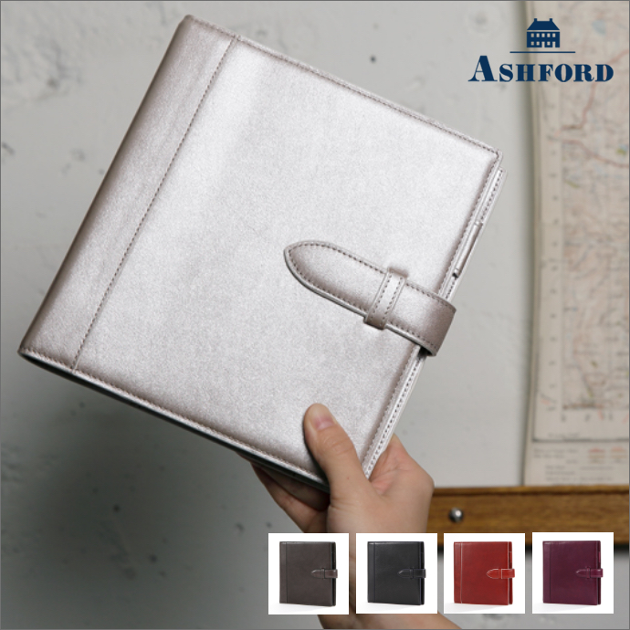 ASHFORD/アシュフォード システム手帳 イシュー HB×WA5 19mm ベルトタイプ 6125 グレー ( 灰色 ) / ブラック ( 黒 ) / レッド ( 赤 ) / パープル ( 紫 )