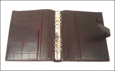 ASHFORD A5大小系统笔记本Loffer低毛皮30mm环