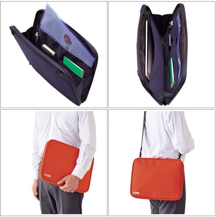 LIHIT LAB./ Licht lab SMART FIT (fit) series clutch bag A-7587 (carrying case/bag in bag/bag/pouch)