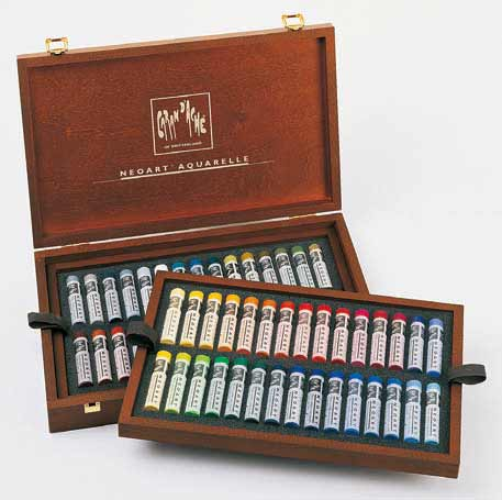 Neo NEO ART CARAND ' ACHE water soluble wax pastels to 60 color set