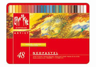 环绕自由 ☆ 单独交谈 ' 疼 NEOPASTEL 油粉彩 neopastel 设置了 48 种颜色
