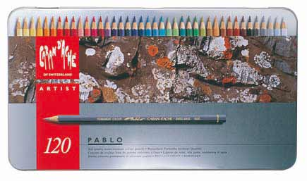 CARAND'ACHE PABLO 油性 色鉛筆 パブロ 120色セット