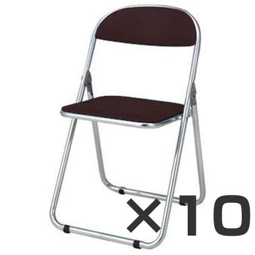 6/1限定pt最大10倍/ジョインテックス 折畳イス 10台セット ブラウン FO-22C (折りたたみ椅子/折りたたみイス/折りたたみいす/おりたたみ いす/折りたたみチェア/折畳み 椅子/折りたたみパイプ椅子/通販)