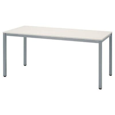 アール・エフ・ヤマカワ テーブル 幅1800mm×奥行き900mm ホワイト RFD-1890W (会議テーブル/会議机/ミーティングテーブル/ダイニングテーブル)