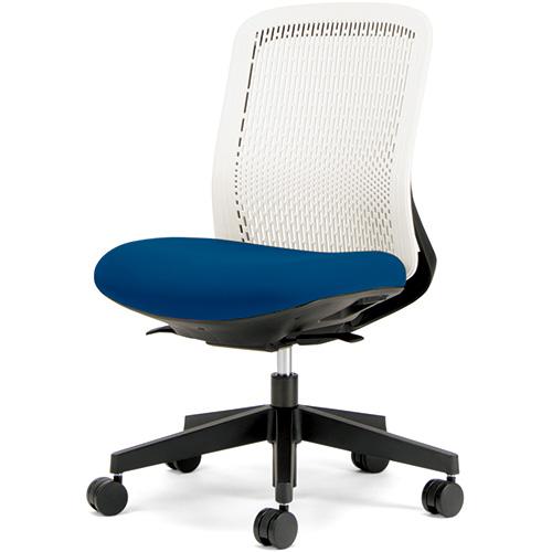 プラス 事務イス Try KC-TR50SEL BL (事務椅子/オフィスチェア/ワークチェア)