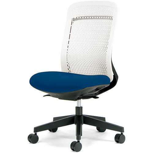 プラス 事務イス Try KC-TR51SEL BL (事務椅子/オフィスチェア/ワークチェア)