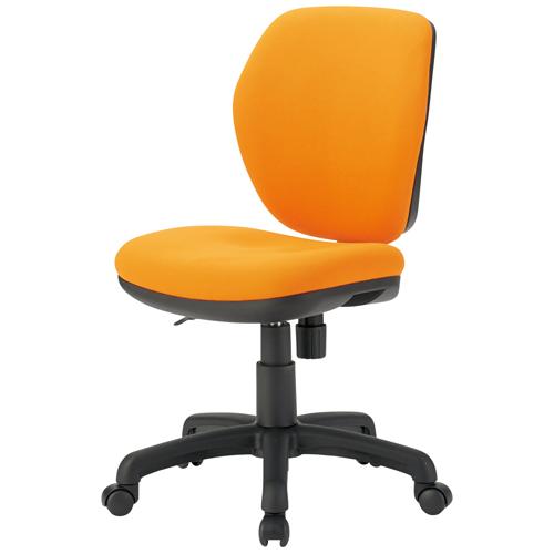 TOKIO 事務イス FST-77 オレンジ (事務椅子/オフィスチェア/ワークチェア)
