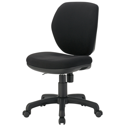 TOKIO 事務イス FST-77 ブラック (事務椅子/オフィスチェア/ワークチェア)