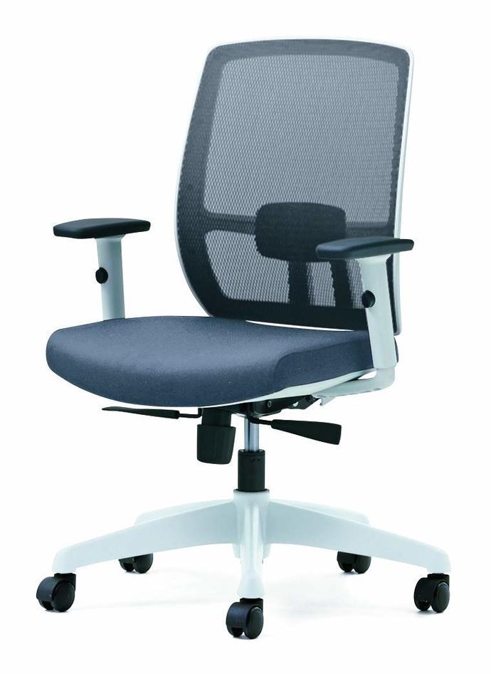 プラス オフィスチェア メッシュ/ロッキング グレー BJ KD-BJ51ML GY (事務椅子/オフィスチェア/ワークチェア)