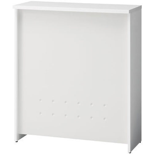 プラス ハイカウンター 幅900mm ホワイト天板・ホワイト幕板 BF-09H W1/W4 (PLUS/受付/対面カウンター)