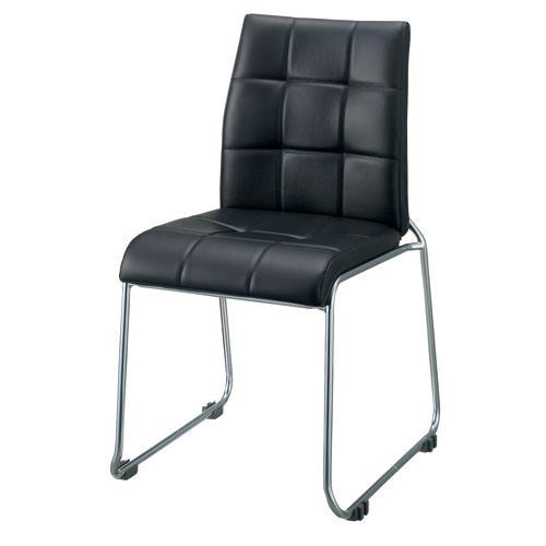 お手頃価格 スマイル 会議イス OLIVE DX SMC740790 ブラック (会議室椅子/ミーティングチェア), いいスタイル 4ab5b9eb