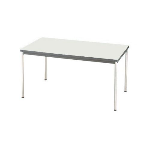 ジョインテックス 会議用テーブル 幅1200mm×奥行き750mm ネオグレー YH-R1275 (会議テーブル/会議机/ダイニングテーブル)