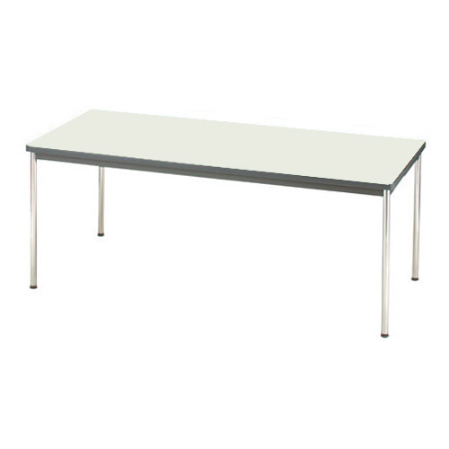 ジョインテックス 会議用テーブル 幅1800mm×奥行き750mm ネオグレー YH-R1875 (会議テーブル/会議机/ダイニングテーブル)