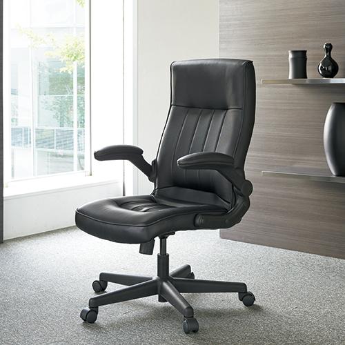 ジョインテックス 役員イス GSX700 ブラック 引き出しのみ (事務椅子/オフィスチェア/ワークチェア/マネージャーチェア)