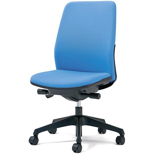 プラス 事務イス カイル KC-HL63SL LB (事務椅子/オフィスチェア/ワークチェア)