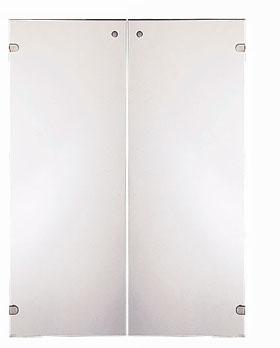 Garage 収納庫(本棚) fantoni GF/GL ストレージ用ガラス扉 GF-120TG W898×D5×H1197mm (ガラージ/ガラーヂ/ガレージ/ファントーニ/オフィス家具/SOHO/ソーホー/事務所/おしゃれ/シンプル/通販)