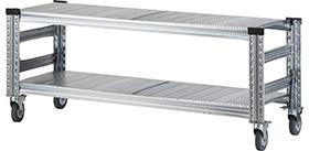 Garage メタルシステム 001890 W1200タイプTVボード 411-780 (ガラージ/ガラーヂ/ガレージ/おしゃれ/シンプル/METALSISTEM)
