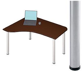 Garage D2-E-ST マホガニー 天板+脚 W1200×D1000(607)×H715mm (ガラージ/ガラーヂ/ガレージ/オフィス家具/SOHO/ソーホー/事務所/おしゃれ/シンプル/通販机/ライティング/PC/ワーク/事務/学習/作業/デスク)
