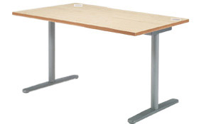 Garage fantoni GL テーブル デスク GL-127H W1200×D710×H720 白木 (ガラージ/ガラーヂ/ガレージ/ファントーニ/オフィス家具/SOHO/ソーホー/事務所/おしゃれ/シンプル/通販ダイニング/店舗/会議用/ミーティング/キッチン/ワーク/パソコン)