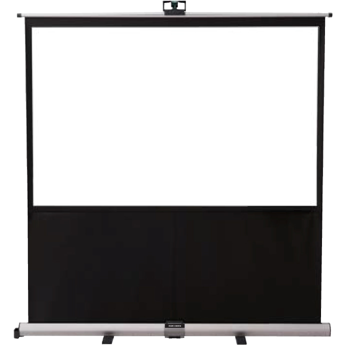 泉 フロアタイプスクリーン 60インチ フロント操作アーム式 AS-60V