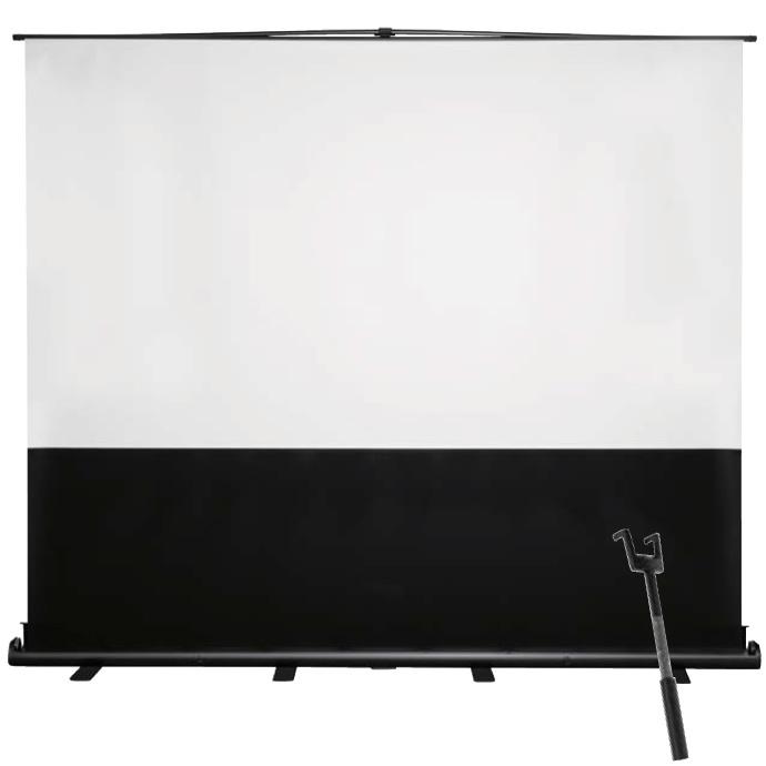 泉 フロアタイプスクリーン 120インチ パンタグラフ式大型 SPL-120HD