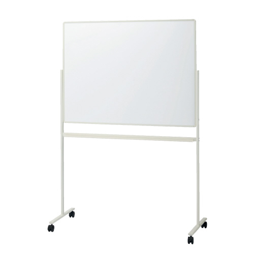 プラス 脚付片面ホワイトボード VS2-34SSJ(プレゼン/会議/ミーティング/黒板)